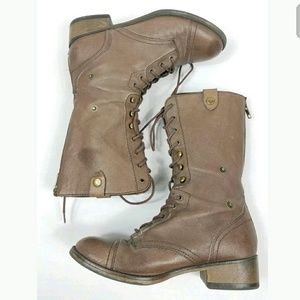 Steve madden Combat Parto Boots 8M